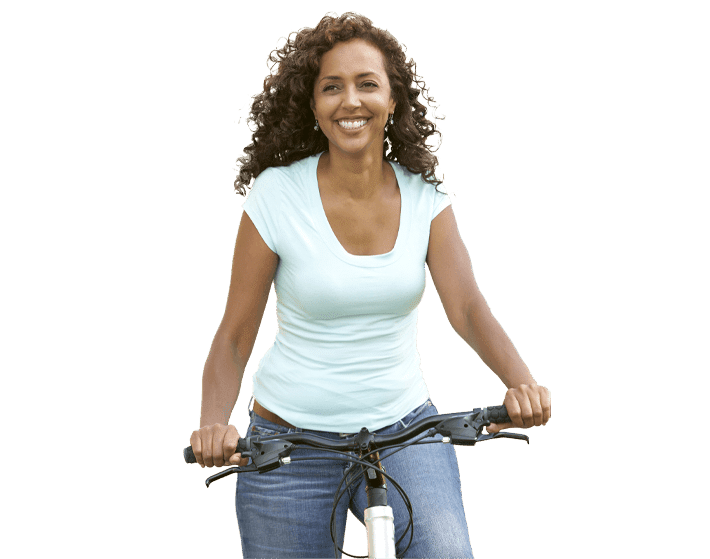 Addiction Recovery East Amherst NY Woman Bike